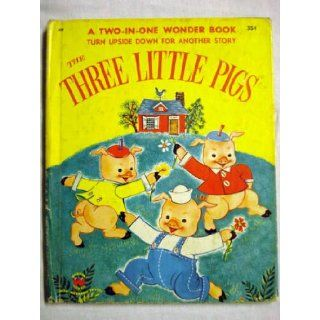 The Three Little Pigs; Little Red Riding Hood Wonder Books Books