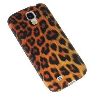 [JNJ] Samsung Galaxy S4 IV Soft TPU Skin Case Cover Brown Leopard Cell Phones & Accessories