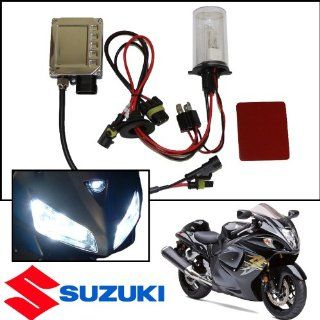 TGP H4 8000k Iceberg Blue AC HID Xenon Kit (Low Beam Only) with Halogen High 2005 Suzuki Boulevard M95 Only Automotive