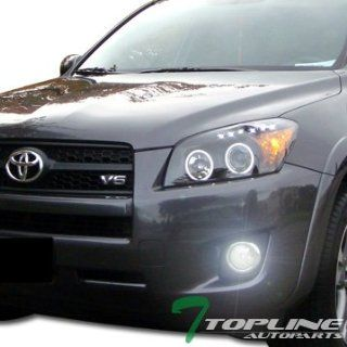 6000K Hid Xenon W/Jdm Chrome Front Bumper Fog Lights+Switch 09 10 11 Toyota Rav4 Automotive