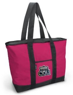 ODU Logo Pink Tote Bag Old Dominion University Travel Beach Bag Clothing