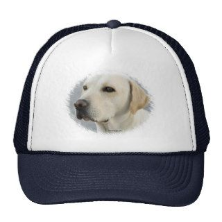 Golden Labrador Retriever Photograph Mesh Hat