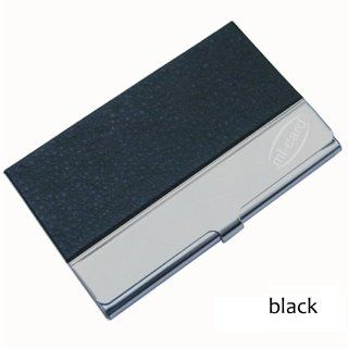 BUSINESS CARD HOLDER   Unique Designer Modern Multi Card Case for Men & Women   Ultra Thin for Pocket or Ladies Purse   Silver Stainless Steel Metal Case Keeps Cards Crisp and Clean   Available in Black/Brown/Red/Pink/White   Lifetime Guarantee (Brown)