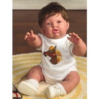 "Berenguer Reaching for Love 18"" All Vinyl Toddler Baby Boy JC Toys Doll Toys & Games"