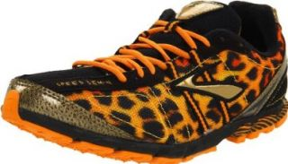 Brooks Women's Mach 13 Spikeless Cross Country Shoe,Flame Orange/Varsity Maize/Gold/Black,11.5 B US Shoes
