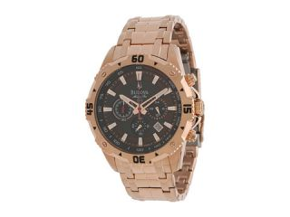 Bulova Mens Marine Star   97B121 Rose Gold