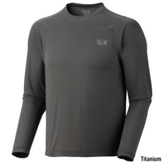Mountain Hardwear Mens Double Wicked Lite Long Sleeve Tee 613708