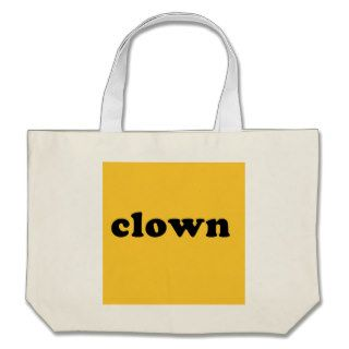 Generic CLOWN T shirt for Halloween Tote Bag