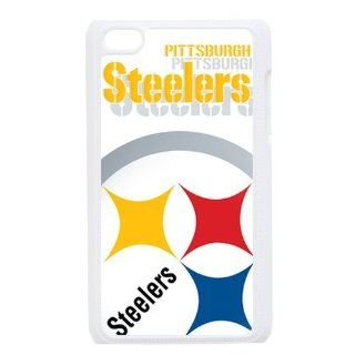 WY Supplier Hard Case for Ipod touch 4th Steelers logo label by WY Supplier White Color WY Supplier 146354 Cell Phones & Accessories