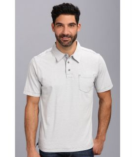 Quiksilver Waterman Strolo 2 Knit Polo Mens Short Sleeve Pullover (Gray)