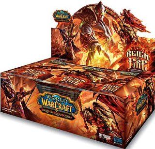WOW World of Warcraft TimewalkersReign of Fire SEALED Booster Box WITH LOOT CARDS Toys & Games