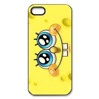 Personalized Custom Cartoon Spongebob Squarepants Protective Cover Case for iPhone 5/5S TPU Cover Case 5S266SS Cell Phones & Accessories