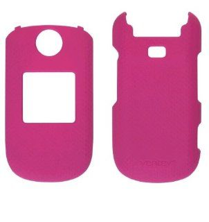 Ventev Soft Touch Snap On Case for Samsung Chrono 2 SCH R270 & Coco 3 SCH R270   Pink Cell Phones & Accessories