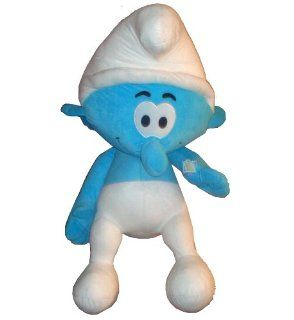 "Nanco 2011 "" THE SMURFS "" Movie Large 18 Inch Clumsy Smurf Stuffed Plush Doll Toy Toys & Games"