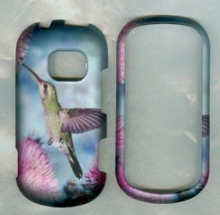 Humming Bird Peace Love Lg Extravert Vn271 Verizon Case Cover Hard Case Snap  Cell Phones & Accessories