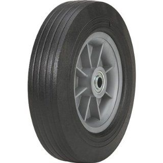 Martin Flat Free Solid Rubber Tire and Poly Wheel   10 x 275 Tire, Model# ZP1