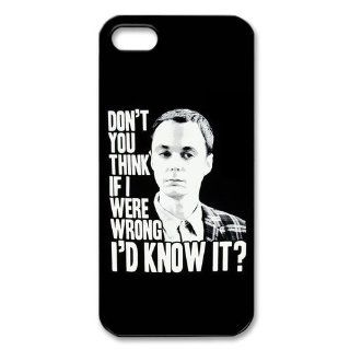 The Big Bang Theory Case for Iphone 5/5s Petercustomshop IPhone 5 PC02138 Cell Phones & Accessories