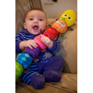Lamaze Musical Inchworm  Baby Rattles  Baby