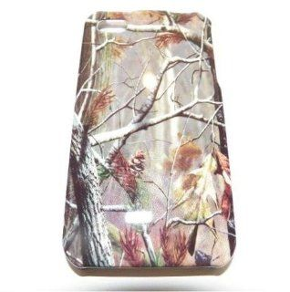 Fall Leaves Camo Camouflage Hunter Hard Cover Case for Apple Iphone 4G 4S Cell Phones & Accessories
