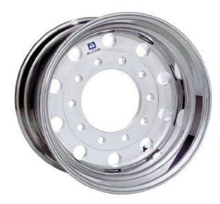 "22.5"" X 12.25"" Hub Piloted Alcoa Aluminum Wheel, 10 285.75mm Bolt Circle (Polished Outside Wheel) Automotive"