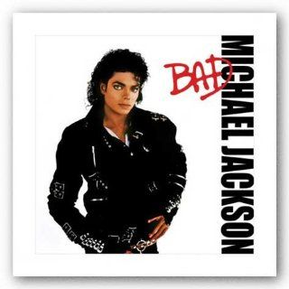 Michael Jackson Bad Album Cover Music Poster Print
