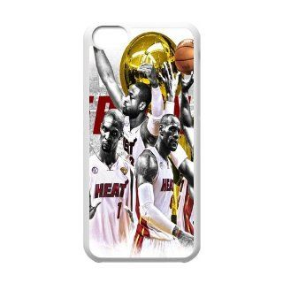 Custom Miami Heat Cover Case for iPhone 5C W5C 291 Cell Phones & Accessories