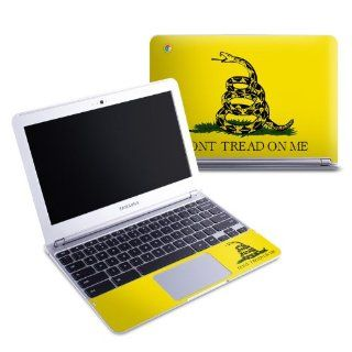 Gadsden Flag Design Protective Decal Skin Sticker (High Gloss Coating) for Samsung Chromebook 11.6 inch XE303C12 Notebook Computers & Accessories