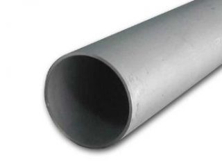 "Online Metal Supply 304 Stainless Steel Pipe 1 1/4 inch x 48""   SCH 40S (1.66 OD x 1.38 ID) Welded   Metal Industrial Wall Tubing"