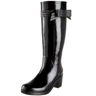 Kate Spade New York Women's Randi Rain Boot,Black,5 M Shoes