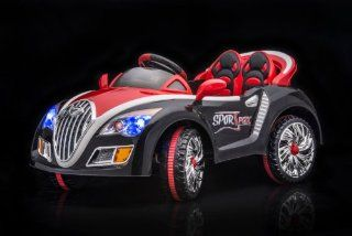 SPORTrax Bugatti Style Kid's Ride On Car, Battery Powered, Remote Control, w/FREE  Player   Black Toys & Games