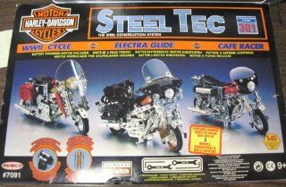 HARLEY DAVIDSON MOTORCYCLES STEEL TEC CONTRUCTION SYSTEM 301 Toys & Games