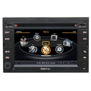 Koolertron For 2006 2007 2008 2009 2010 2011 2012 Peugeot 307 Car DVD GPS Navigation With 3 Zone POP 3G/WIFI/20 Disc CDC/ DVD Recording/ Phonebook / Game (Original Factory Pannel Design, Free Map)  Vehicle Dvd Players