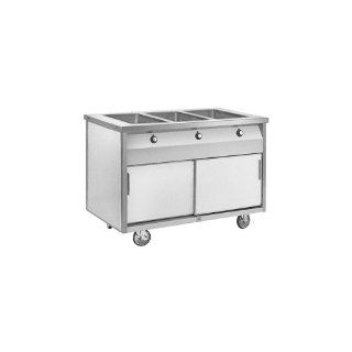 "Randell 48"" Open Cabinet Base Hot Food Table"