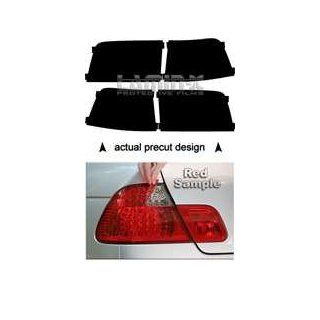 Lincoln Navigator (2007, 2008, 2009, 2010, 2011) Tail Light Film Covers (Color RED) Automotive