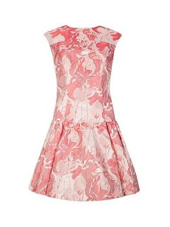 Ted Baker Scherry drop waist dress Pink