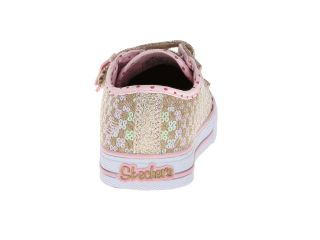 SKECHERS KIDS Shuffles   Sweet Step Lights 10284N (Toddler/Little Kid)