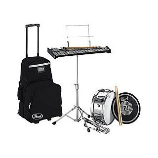 Pearl PL800CH Learning Center Bell & Snare Kit w/ Cart Musical Instruments