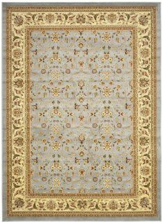 Safavieh Lyndhurst Collection LNH312B Light Blue and Ivory Area Rug, 9 Feet by 12 Feet   Oriental Rugs