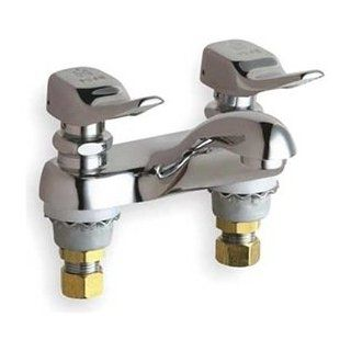 "Chicago Faucets 802 336CP Lavatory Ftg, Deck Mntd 4""Cc""Cc   Bathroom Sink Faucets"