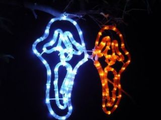 Scream Masks LED Lights; Halloween Lights; Christmas Lights; Christmas decoration yard lights