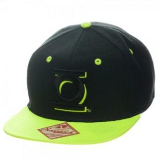 Dc Comics Green Lantern 2tone Neon Snapback Adjustable Hat Cap Clothing