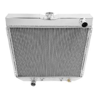 Champion CoolIng Systems, EC339, 2 Row All Aluminum Replacement Radiator for Multiple Ford Models Automotive