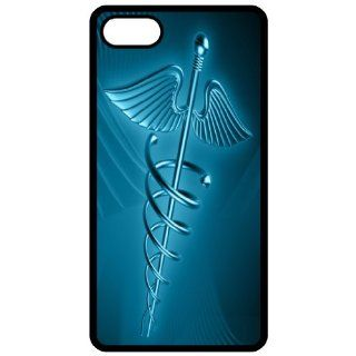 Medical Logo   Image Black Apple Iphone 5 Cell Phone Case   Cover Cell Phones & Accessories