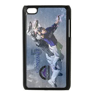 Custom Colorado Rockies Back Cover Case for iPod Touch 4th Generation SS 353 Cell Phones & Accessories