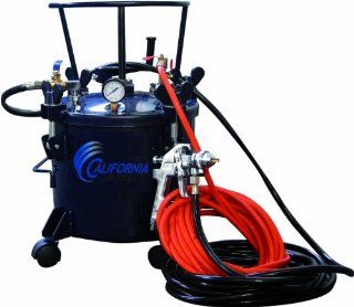 California Air Tools 365 Pressure Pot with HVLP Spray Gun and Hose   Air Compressor Accessories