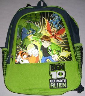 "Ben 10 Tennyson Big Chill Ultimate Alien 16"" Backpack Toys & Games"