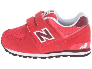 New Balance Kids KV574 (Toddler) Ruby
