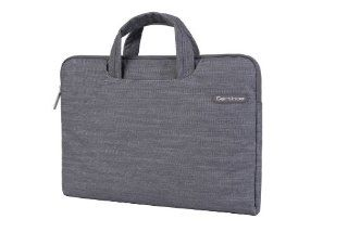 "Cartinoe Vintage Jeans Denim Fabric Protective Bag Carrying Bag Case Bag Pouch Sleeve for 15""Apple Macbook Air / Macbook Pro / 15 inch Laptop Computer (15 Inch Color Grey) Computers & Accessories"