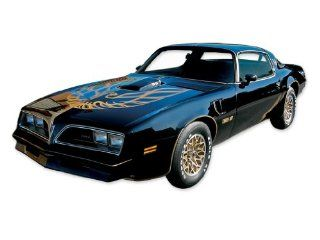 1976 Pontiac Firebird Trans Am Special Edition 50th Bandit Decals & Stripes Kit   GOLD Automotive