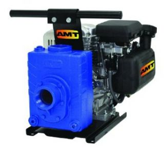 "AMT Pump 382A 99 Engine Driven AG/Dewatering Pump with Honda GC160 Engine, Polypropylene, 5 HP, Curve D, 2"" NPT Female Suction & Discharge Ports Industrial Pumps"